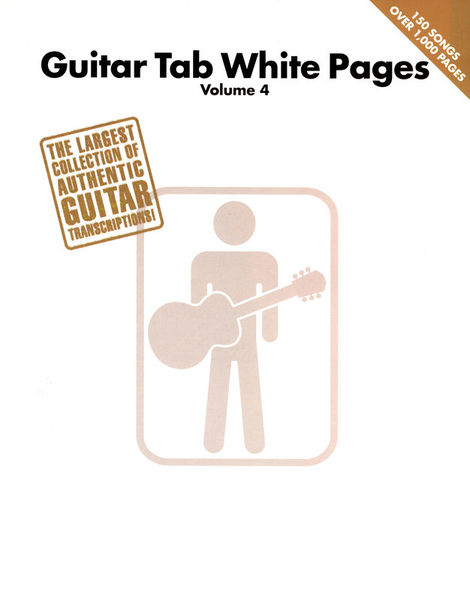 Hal Leonard Guitar Tab White Pages 4