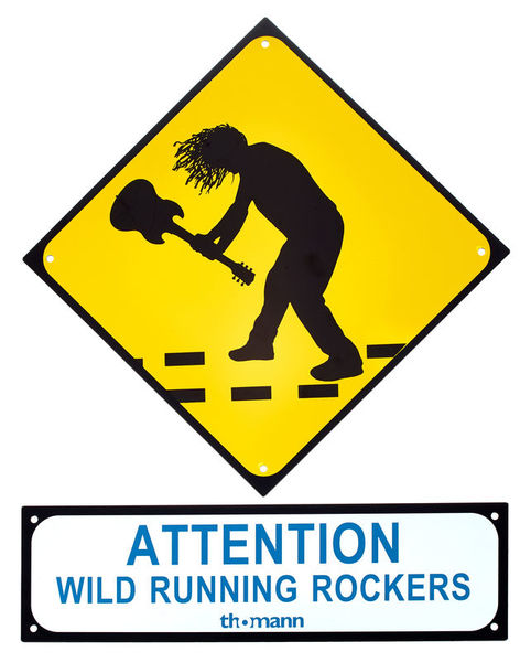 Millenium Rockers Sign
