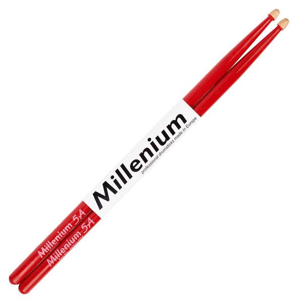 Millenium H5A Hickory Sticks Red