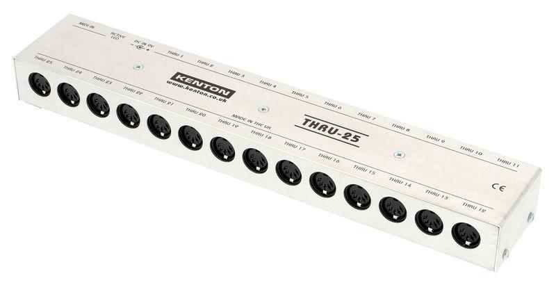 Kenton MIDI Thru 25