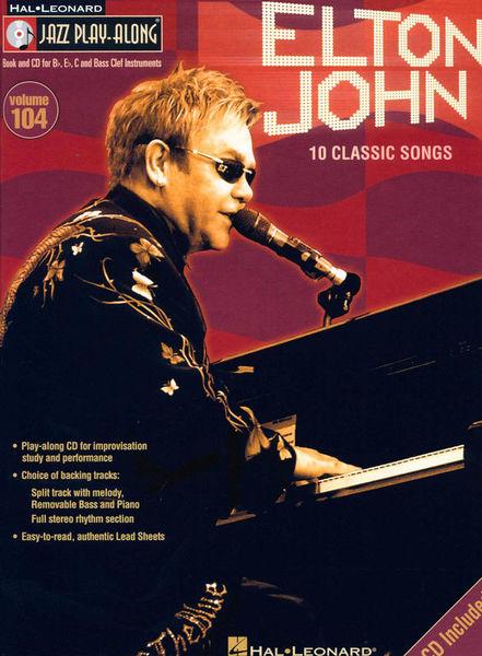 Hal Leonard Jazz Play-Along Elton John