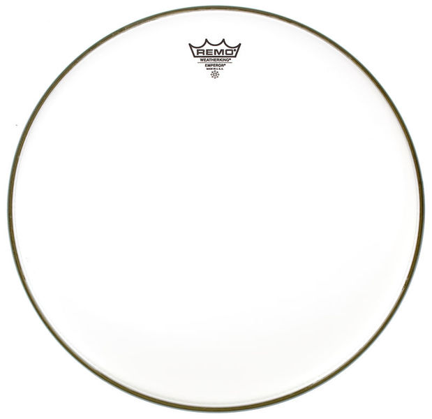 "Remo 15"" Emperor White smooth"
