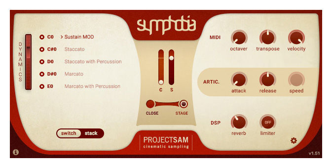Project Sam Symphobia 1+2 Duo Pack