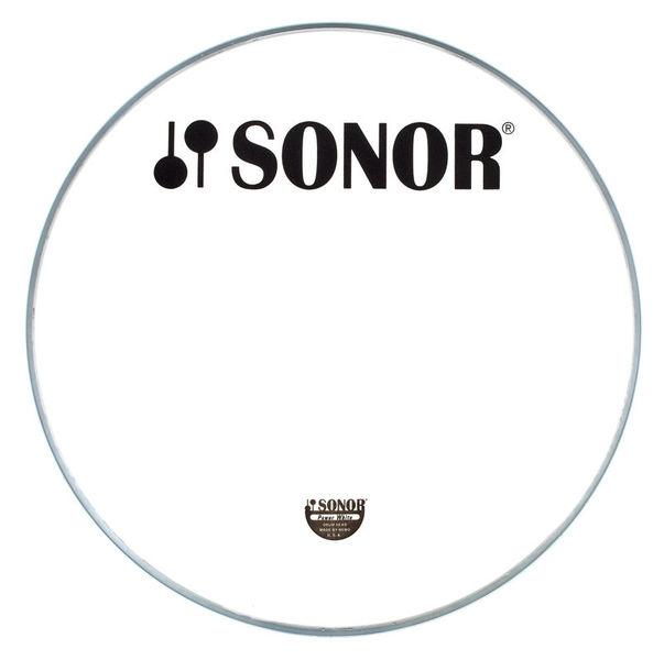 Sonor PW18BL Bass Reso Head White