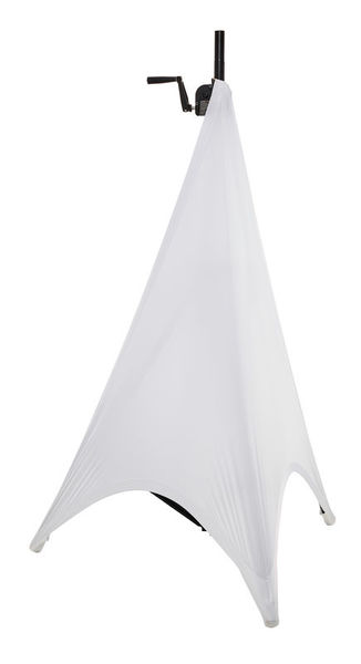 Stairville Tripod 2Side Cover White XL95