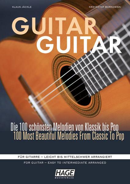 Hage Musikverlag Guitar Guitar + CD