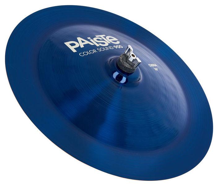"""Paiste 16"""" 900 Color Sound China BLUE"""