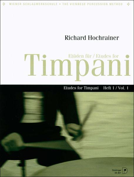 Doblinger Musikverlag Etudes for Timpani 1