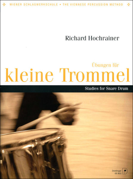 Doblinger Musikverlag Studies for Snare Drum