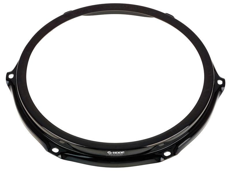 """S-Hoop SH106-BLK 10"""" Drumhoop 6-hole"""