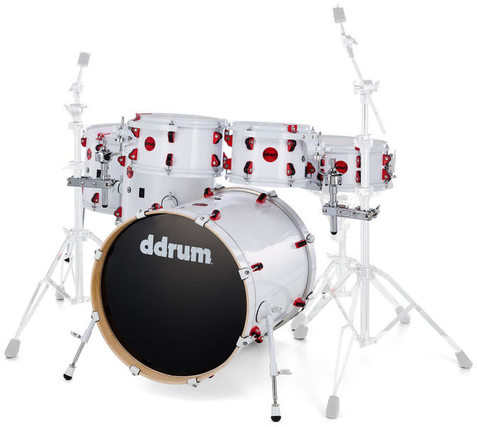 DDrum Hybrid Kit Satin White