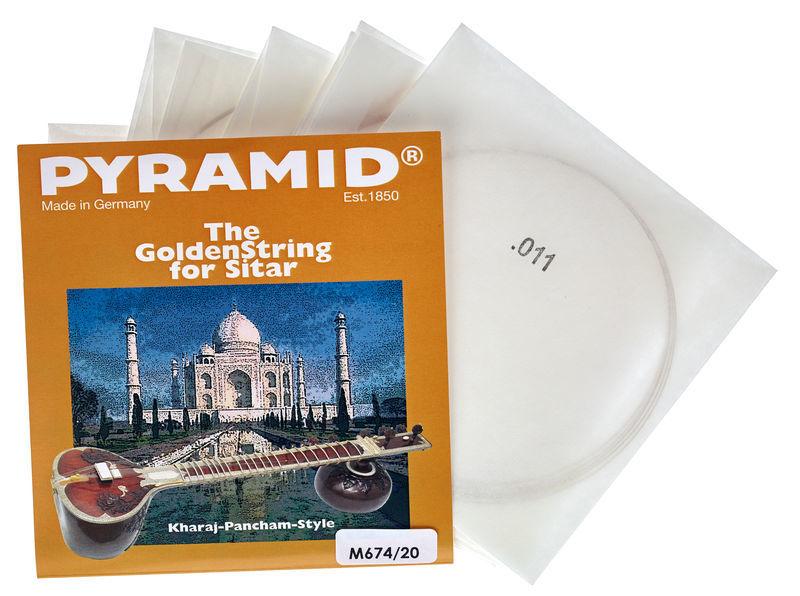 Pyramid M674/20 Medium Sitar Strings