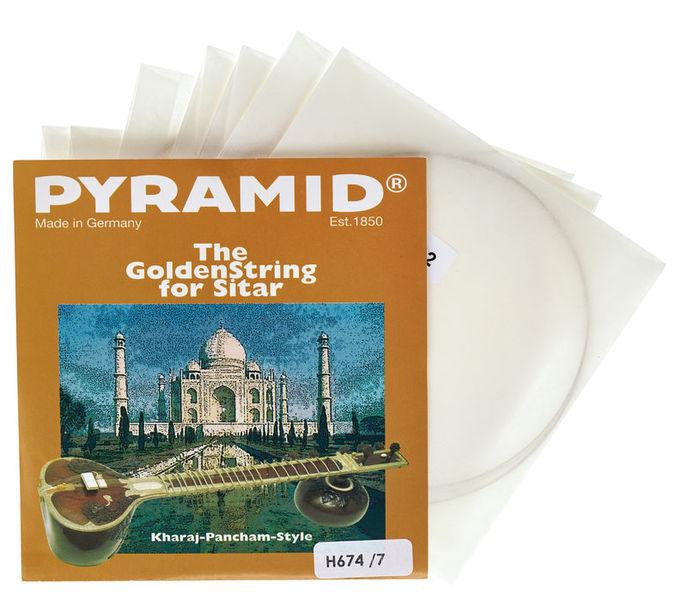Pyramid H674/7 Heavy Sitar Strings