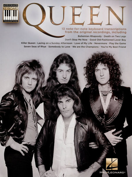Hal Leonard Queen: Note-For-Note Keyboard