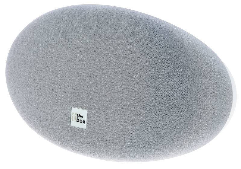 the box Oval 10 White