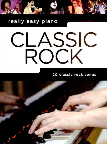 Wise Publications Really Easy Piano Classic Rock