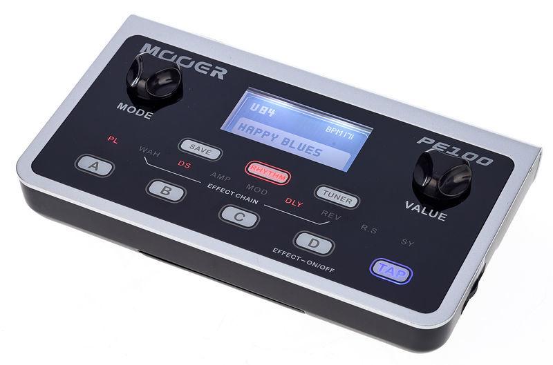 Mooer PE 100 Portable Guitar Effects