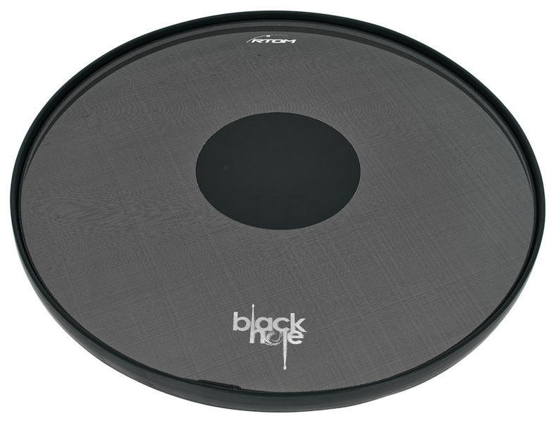 "Rtom 24"" BD Black Hole Practice Pad"