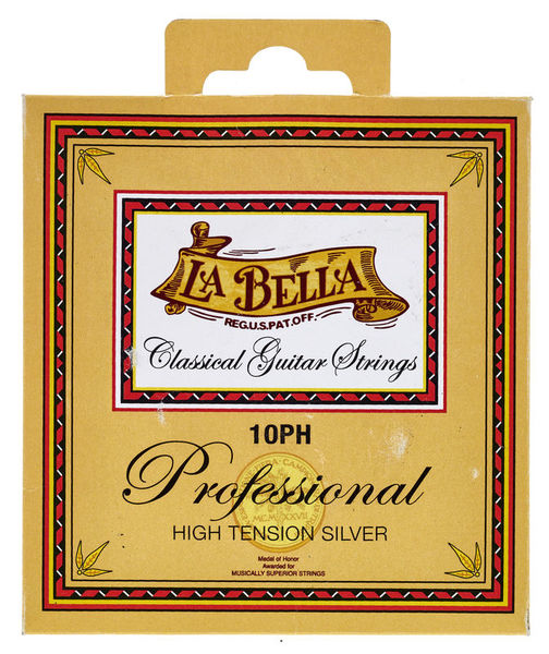 La Bella 10PH Professional Silver HT