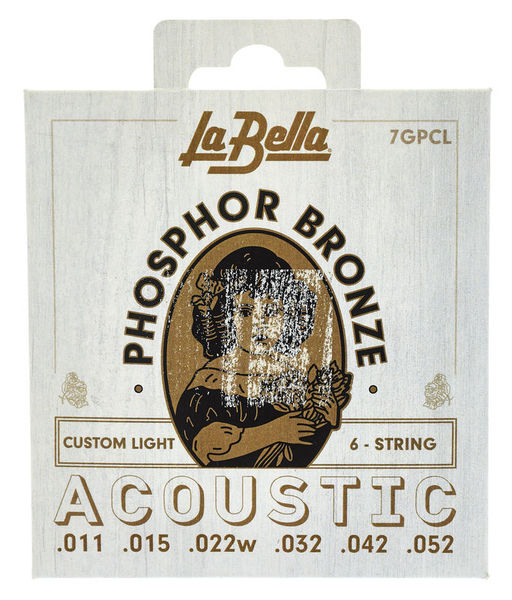 La Bella 7GPCL Phosphor Bronze CL