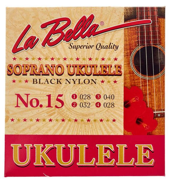 La Bella 15 Soprano BKN