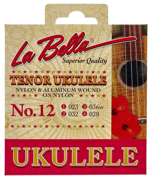 La Bella 12 Tenor Ukulele