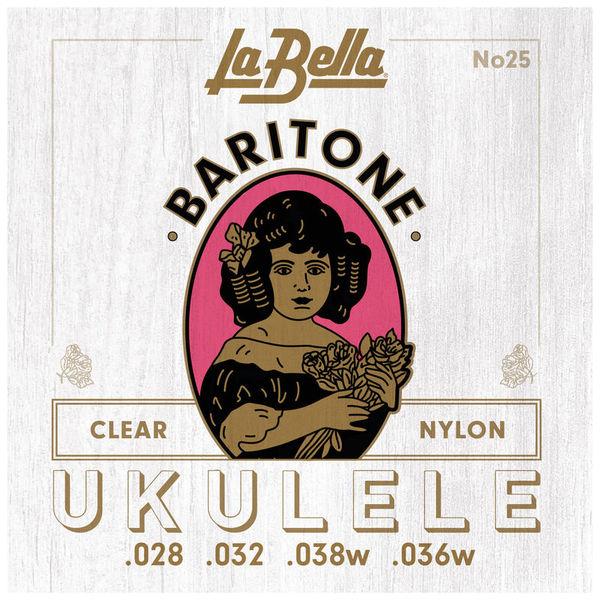 La Bella 25 Baritone Ukulele