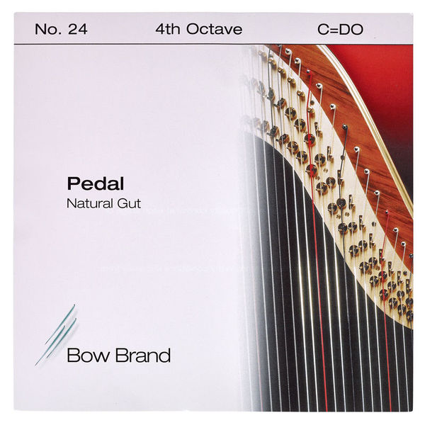 Bow Brand Pedal Natural Gut 4th C No.24
