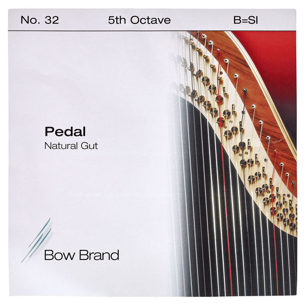Bow Brand Pedal Natural Gut 5th B No.32