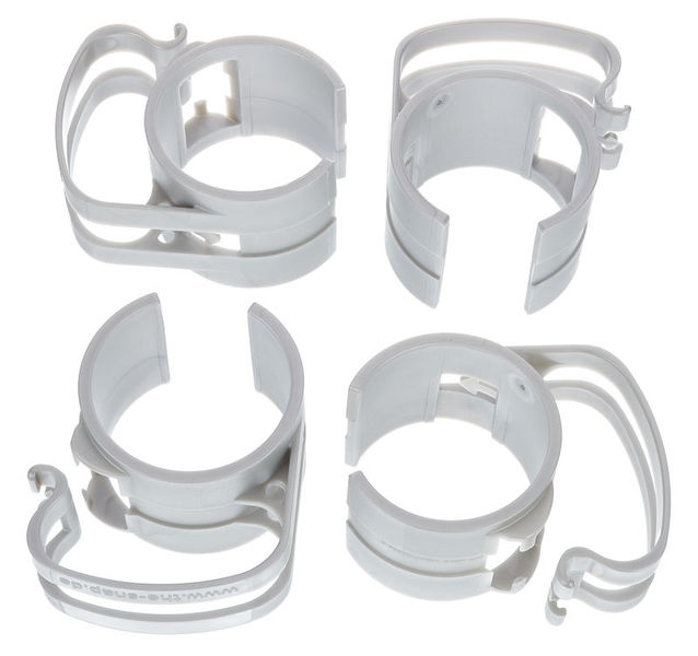 Stairville Snap light silver 4 pcs