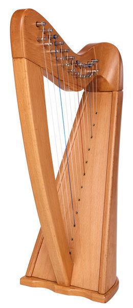 Thomann Roundback Harp Beechwood 12
