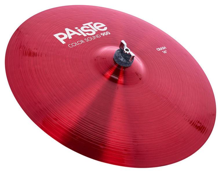 """Paiste 16"""" 900 Color Sound Crash RED"""