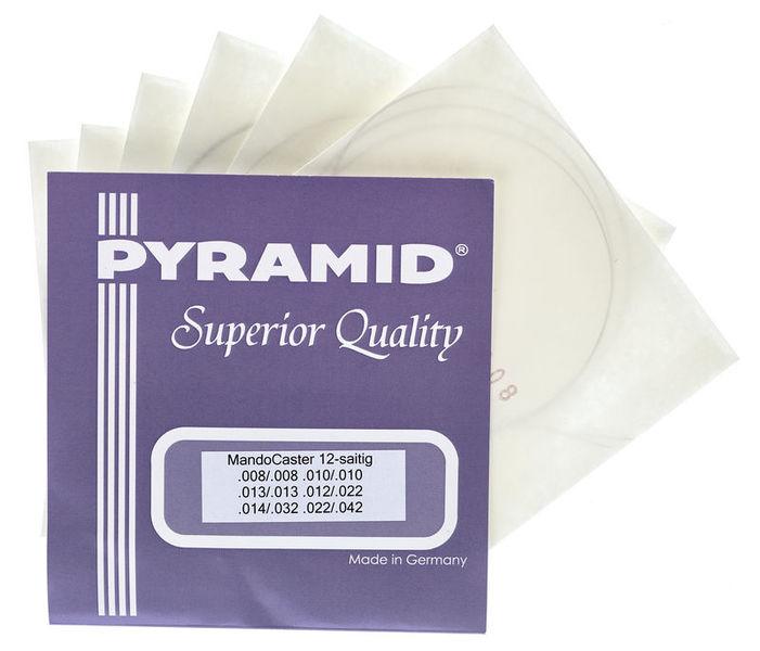 Pyramid Mandocaster 12 String Set