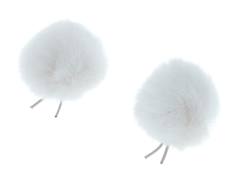 Bubblebee Twin Windbubbles White 3