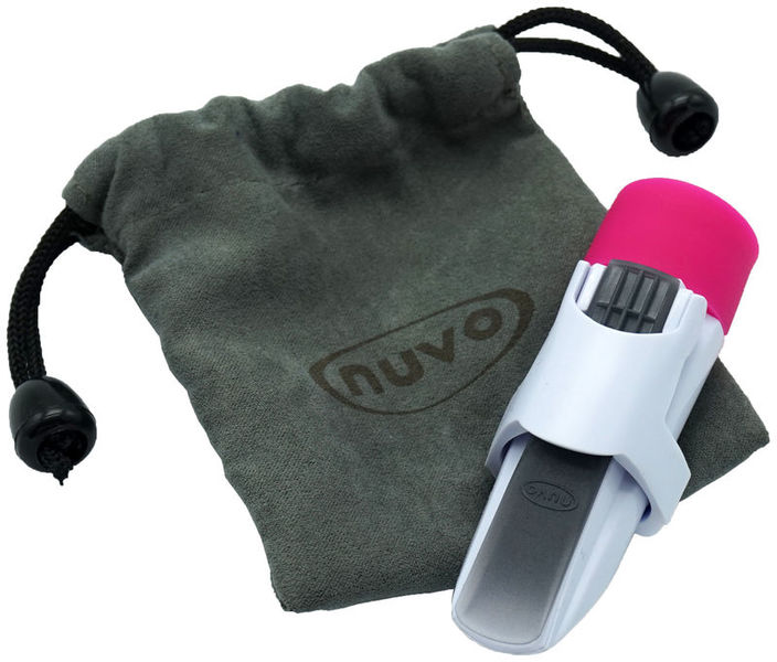 Nuvo Mouthpiece for jSax white-pink