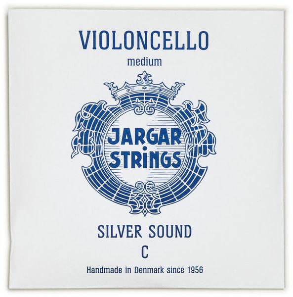 Jargar Silver Cello String C Medium