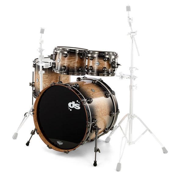DS Drums Rebel Mahogany Tamo Ash Burst
