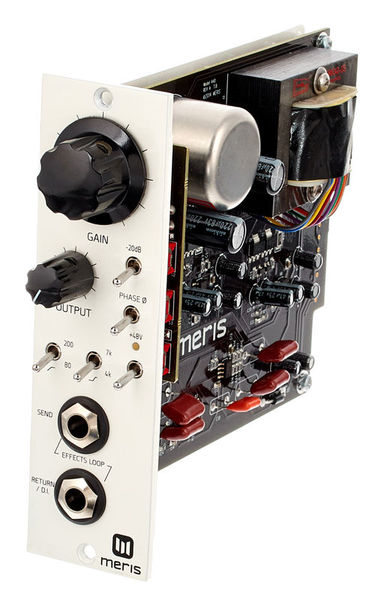 Meris 500 Series 440 Mic Preamp