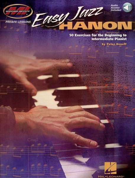 Musicians Institute Press Easy Jazz Hanon: 50 Exercises