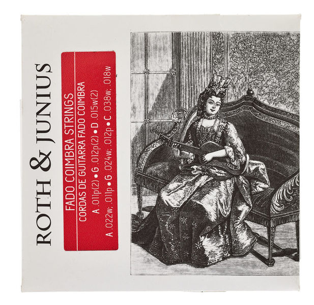 Roth & Junius Fado Guitar Coimbra Strings