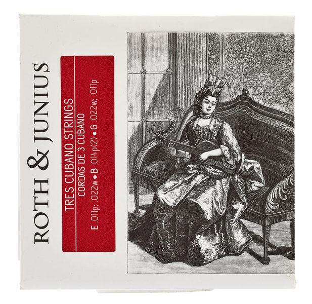 Roth & Junius Tres Cubano Strings Loop-End