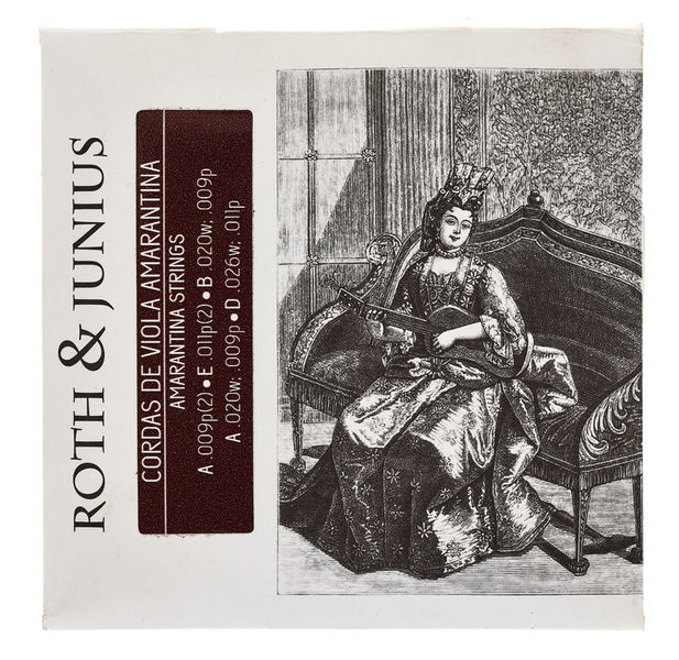 Roth & Junius Viola Amarantina Strings