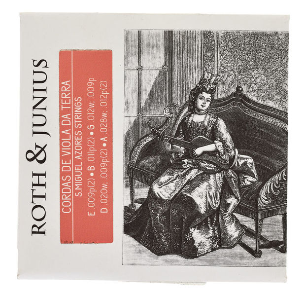 Roth & Junius Viola da Terra Strings