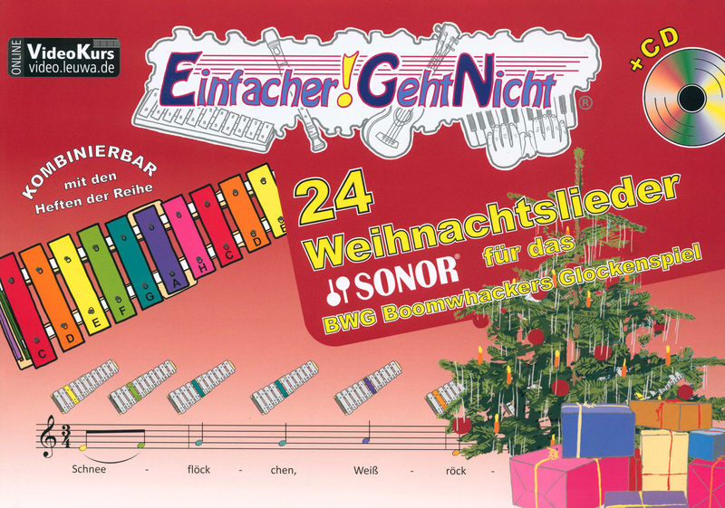 LeuWa-Verlag 24 Weihnachtslieder Sonor BWG