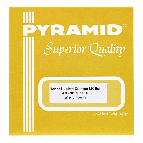 Pyramid Tenor Ukulele Custom LK Set