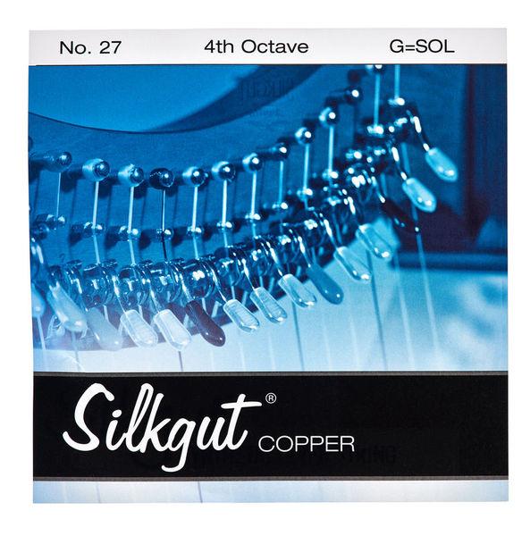 Bow Brand Silkgut Copper 4th G No.27