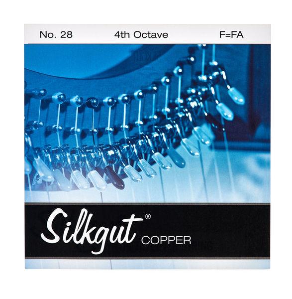 Bow Brand Silkgut Copper 4th F No.28