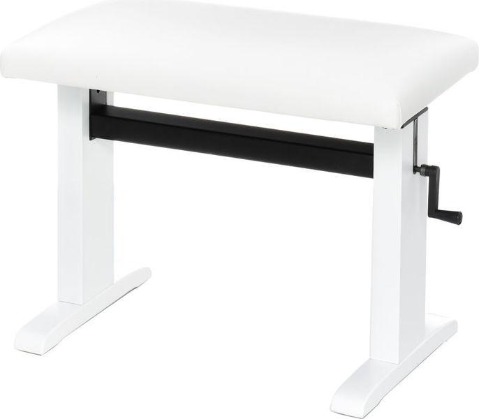 Klavierbänke Niederrhein Mod. 60 Piano Bench WH mat