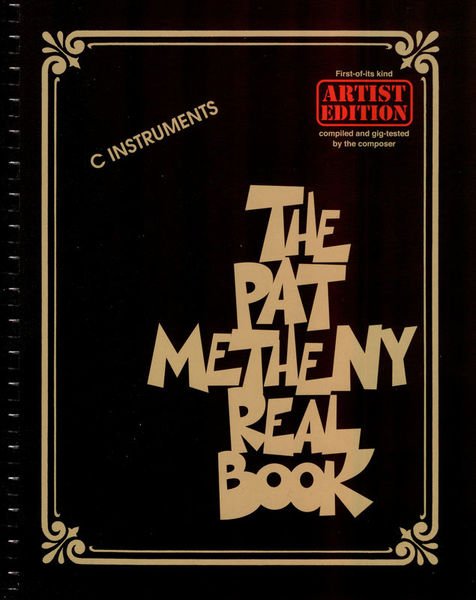 Hal Leonard The Pat Metheny Real Book C
