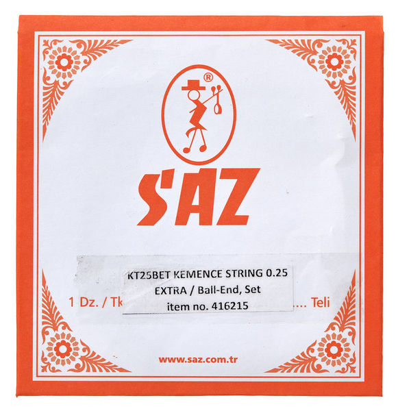 Saz KT25BET Kemence Strings Extra